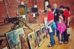 Touring the Varnum Memorial Armory Museum