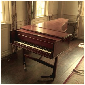 Pianoforte made by William Frecker of London