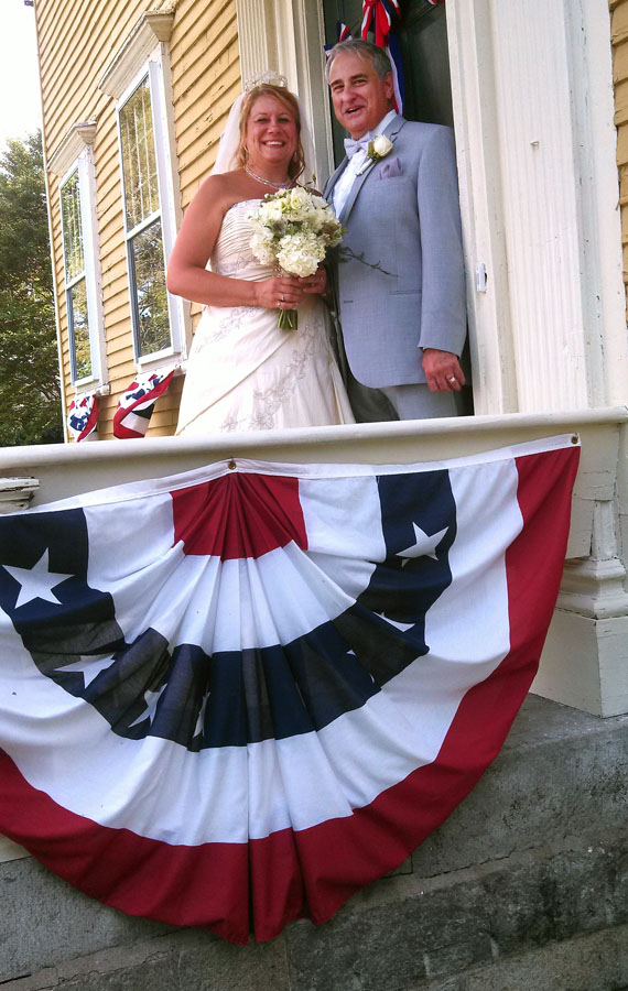 Have your wedding at the Varnum House Museum!