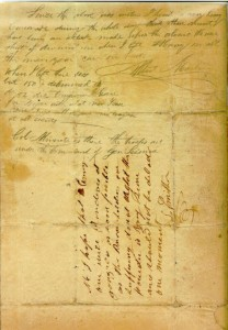Letter - William Barret Travis