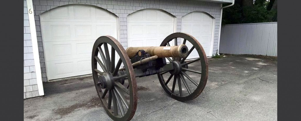 Historic Canons at the Varnum Memorial Armory