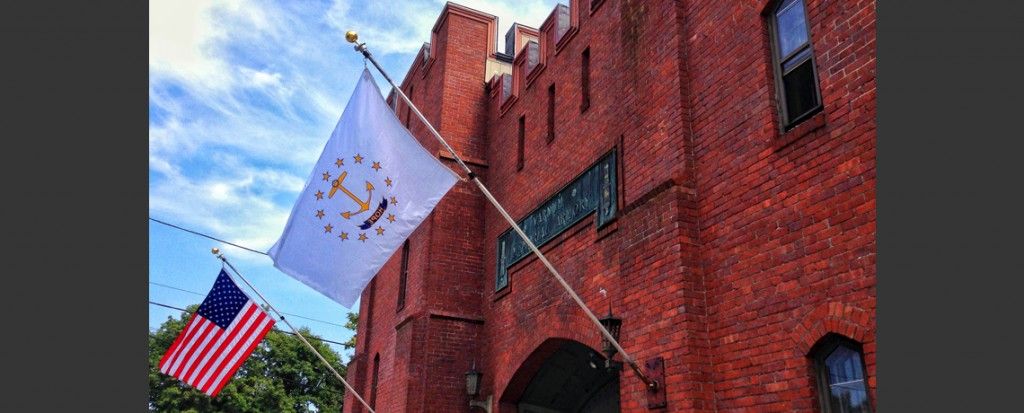 New Flags at the Varnum Memorial Armory Museum!