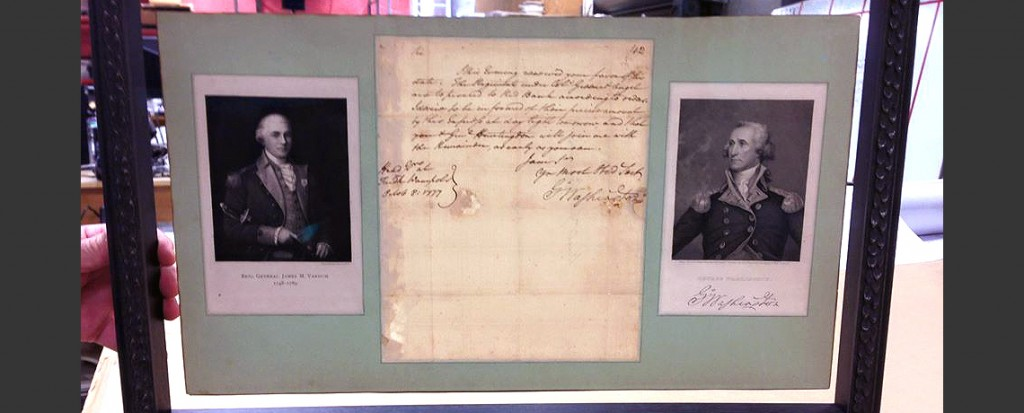 [FEATURED EXHIBIT] George Washington's Letter to James Mitchell Varnum (Battle of Red Bank, NJ)