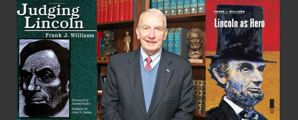 [MEMBERS ONLY] SEPTEMBER GUEST SPEAKER: Frank J. Williams, Lincoln Scholar & Former Chief Justice, Supreme Court of RI