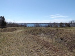 Conanicut Battery looking to West Passage