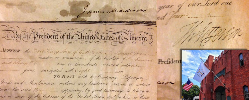 [FEATURED EXHIBIT] 1804 Passport Signed by Thomas Jefferson and James Madison!