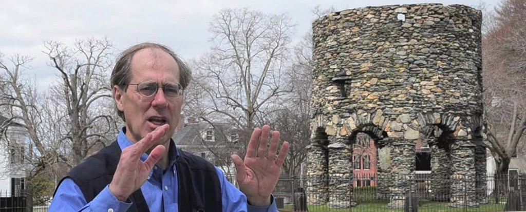 [MARCH 14 DINNER MEETING] Guest Speaker Jim Egan: Unraveling the Mysteries of the Newport Tower Museum