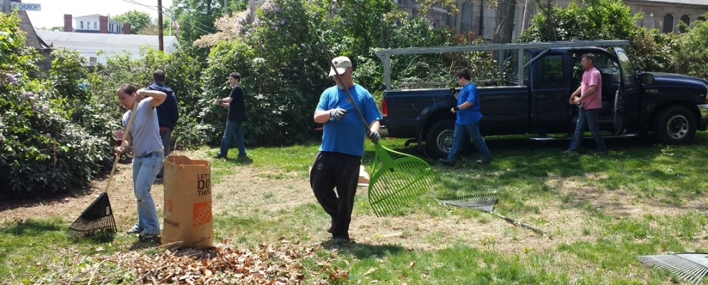 Spring Clean-Up of the Varnum House Museum Grounds on Sat., April 9, 2016