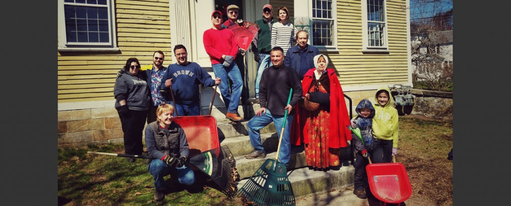 Varnum House Yard Cleanup a Huge Success!