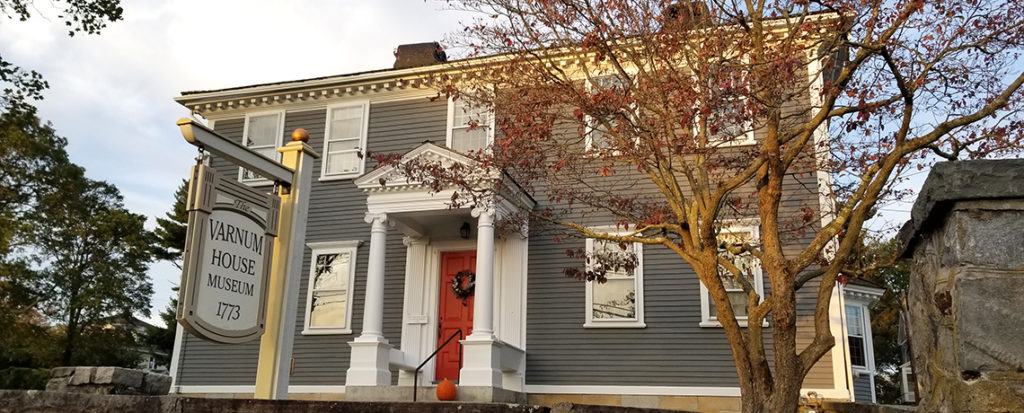 [FEATURE ARTICLE] What's New at the Varnum House Museum: A Chat with Varnum VP Barbara Weaver