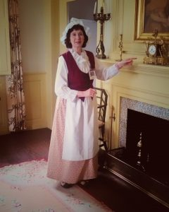 Docents on duty at the Varnun House Museum