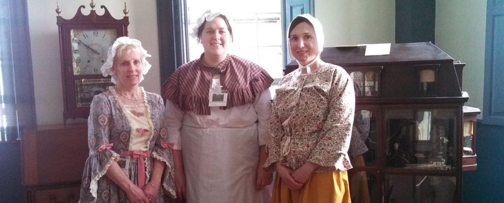 Varnum House Docent's Give Tours to over 100 Elementary School Students