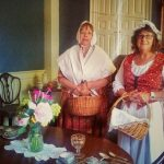 Varnum House docents on opening day.