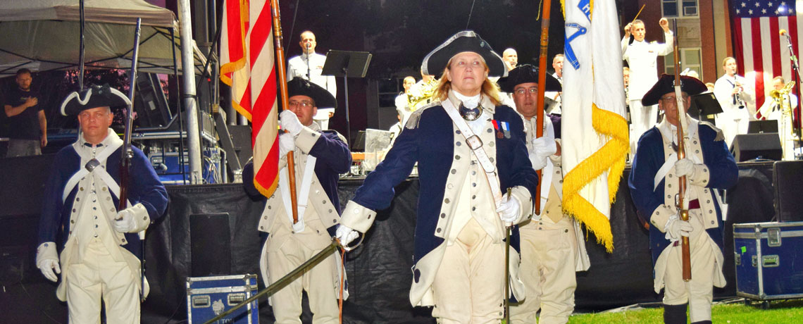 [GALLERY] Varnum Continentals Marching Militia at East Greenwich Summer's End 2016