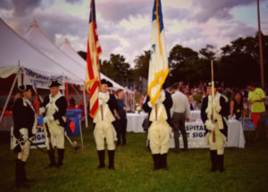 Varnum Continentals Marching Militia at East Greenwich Summer's End 2016