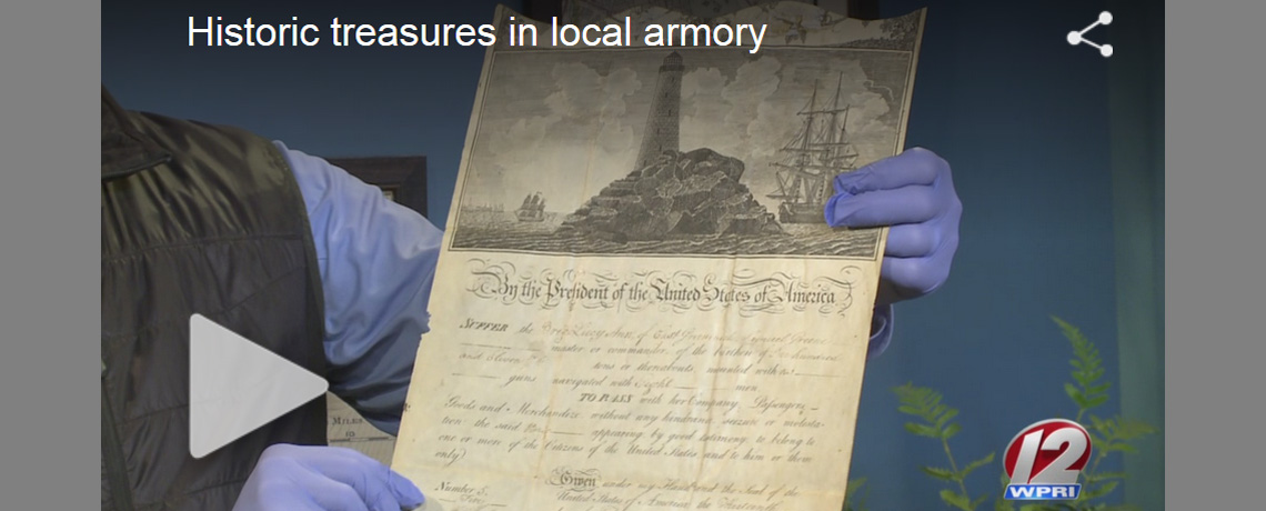 [VIDEO] WPRI Rhode Show features rare Civil War and Rev War Relics at the Varnum Armory