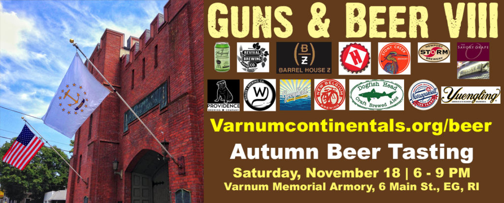 GUNS & BEER VIII BEER TASTING FUNDRAISER (November 18, 2017)