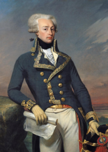 Gilbert du Motier, Marquis de Lafayette (a frequent guest at the Varnum House Museum).