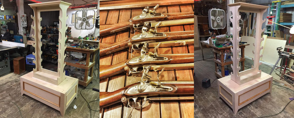 New Musket Displays at the Varnum Memorial Armory Museum!