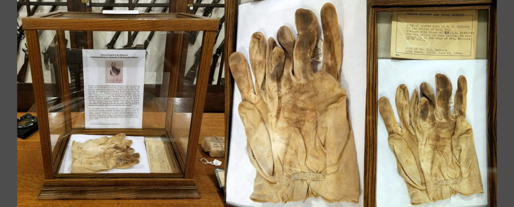 Gloves Soaked in the Blood of Lt Henry Prescott