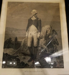 1839 lithograph of General George Washington