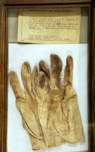 Blood-Soaked Gloves of Lt Henry Prescott