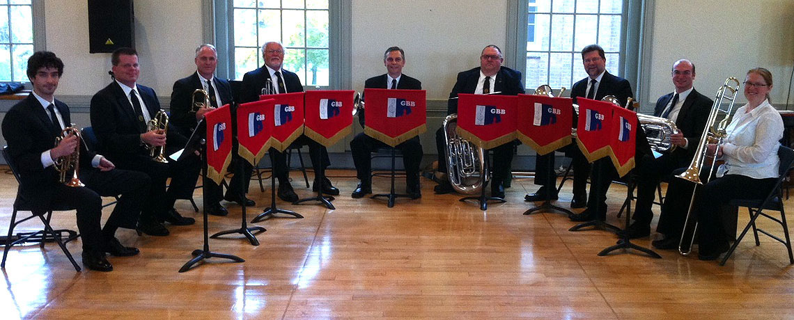 [MAR. 13 DINNER MEETING] Greenwich Bay Brass Performs at March Meeting