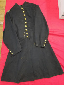 Rhode Island Civil War Artillery officer's frock coat