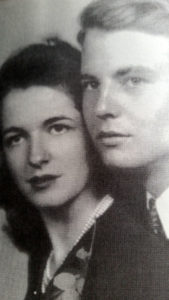 Kitty and Jack Strickland in 1941.