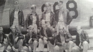 Jack Strickland's flight crew. Jack is standing at right.