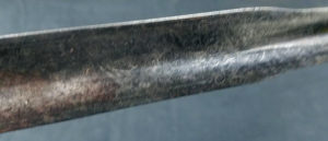 Purported to be British General Prescott's sword.