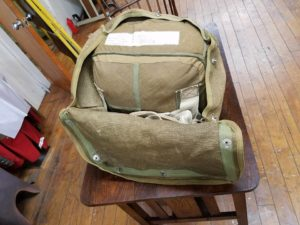 World War II German Parachute with Carrying Case