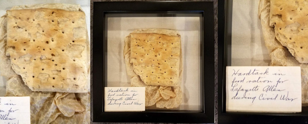 [FEATURED EXHIBIT] 150 Year-Old U.S. Civil War Hardtack