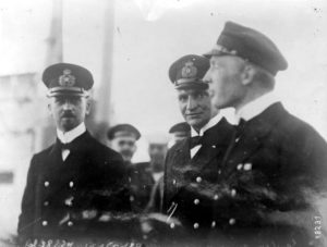 Captain and crew of U-53 in America.