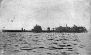 U-53 in Newport, Rhode Island, 7 October 1916