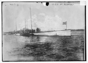 SM U-53 at Newport, Rhode Island in 1916