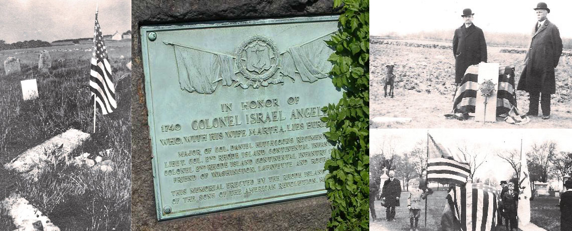 [FEATURE ARTICLE] The Final Resting Place of a Hero of the American Revolution: Col. Israel Angell
