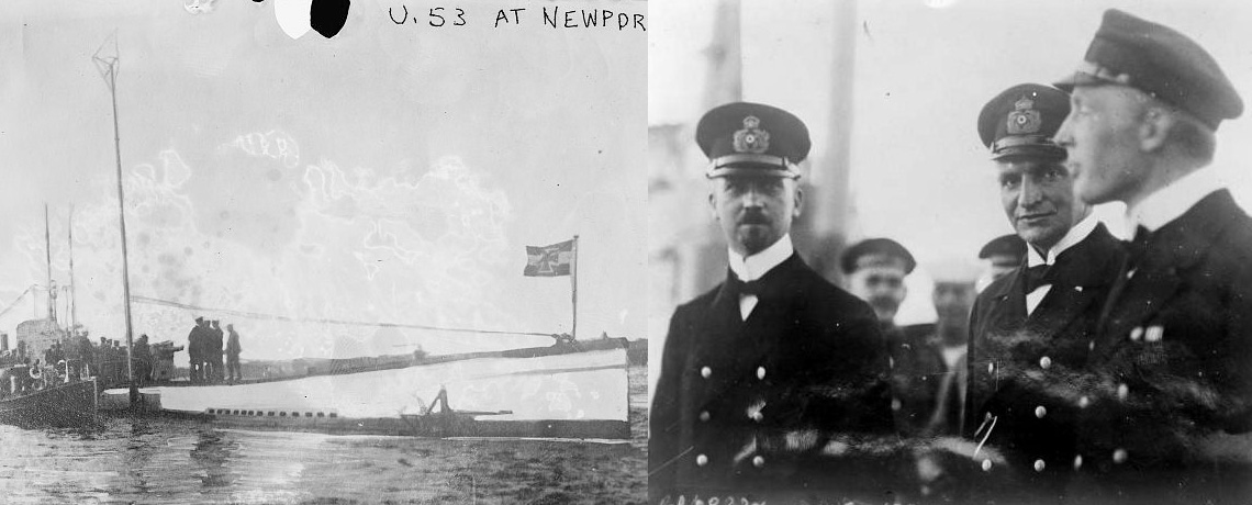 [FEATURE ARTICLE] The U-Boat in Newport Harbor