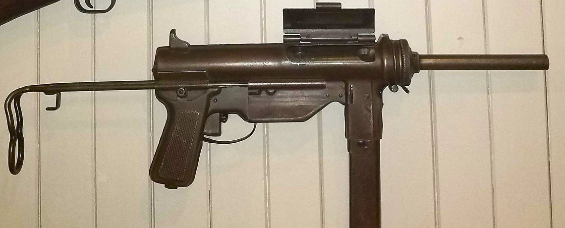 """[FEATURED EXHIBIT] The M3A1 """"grease gun"""""""