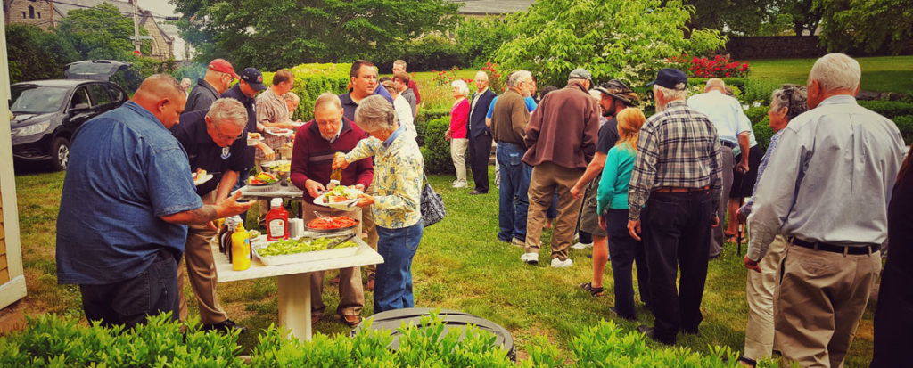 [JUNE 12 DINNER MEETING] Cookout at the Varnum House Museum