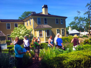 URI Master Gardeners at the Varnum House Museum.