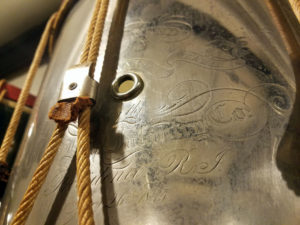 U.S. Civil War Drum from the American Brass Band of Rhode Island