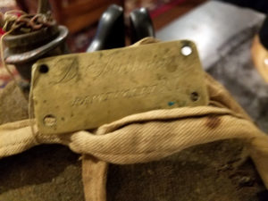U.S. Civil War canteen carried by Dan Sullivan (2nd Rhode Island Volunteers)