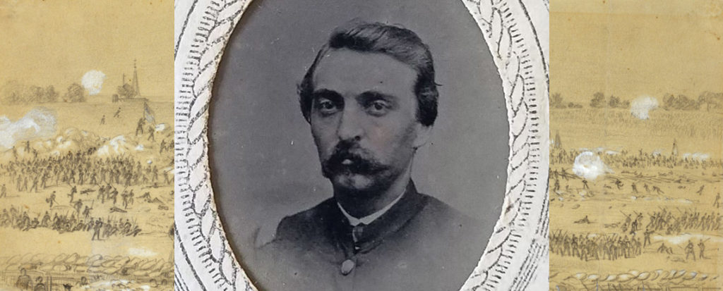 [FEATURED EXHIBIT] Civil War Tintype of 2nd Lt. John K. Knowles