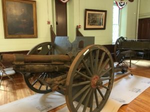 1903 field gun at the Benefit Street State Arsenal