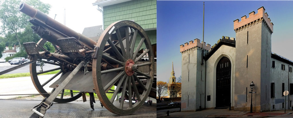 Varnum Armory's 1903 field gun now on loan to the Benefit Street State Arsenal Museum