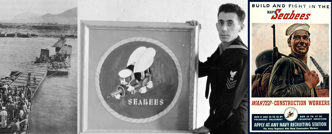 "[FEATURE ARTICLE] U.S. Navy Seabees Celebrate 75 Years of Service: ""We Build, We Fight"" from Davisville, RI, to the Four Corners of the World"