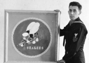 Frank Iafrate, designer of the Seabee logo