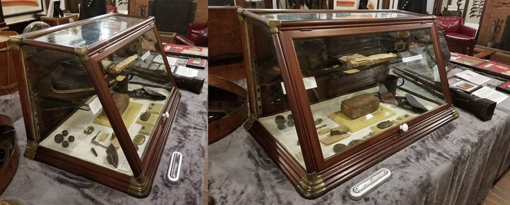 New Display Cases for the Varnum Memorial Armory Museum