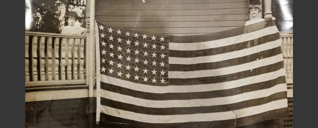 [FEATURED EXHIBIT] First US Flag to enter Germany after Armistice
